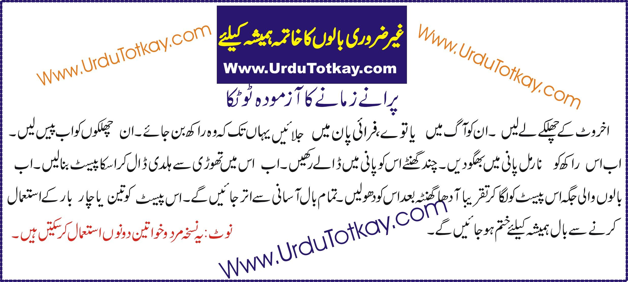 Urdu Totkay | Gharlo Totkay |Tips – All About Totkay & Tips